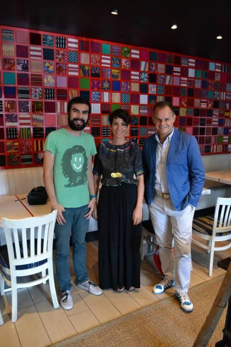Shttefan, Belén y Emilio
