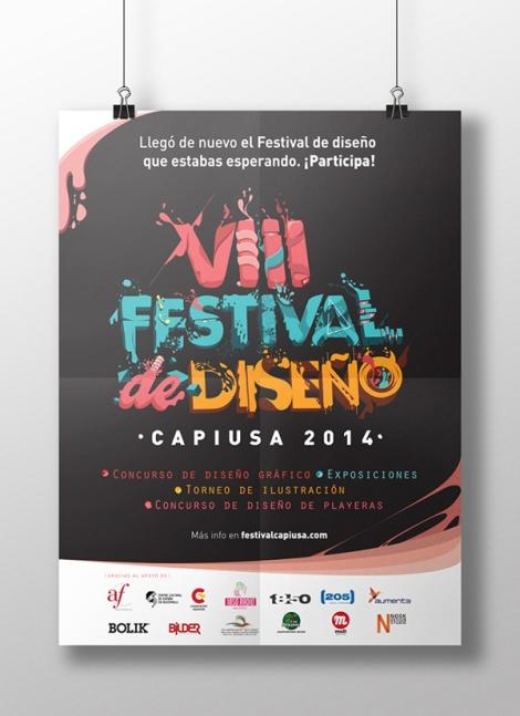 VIII Festival de Diseño / Capiusa 2014