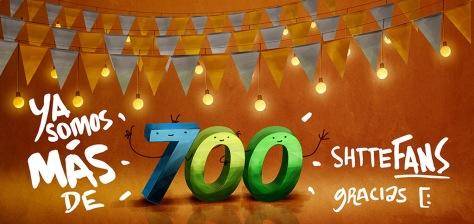 700  shtteFANS