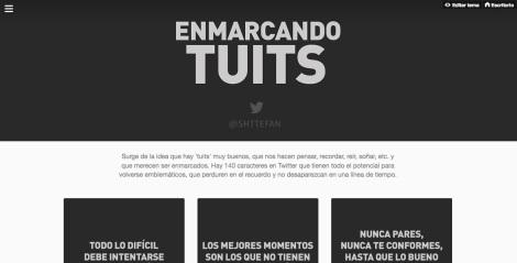 ENMARCANDO TUITS
