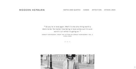 Modern Hepburn