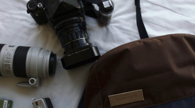 A day with.. EASTPAK